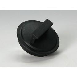 Zátka plastová černá